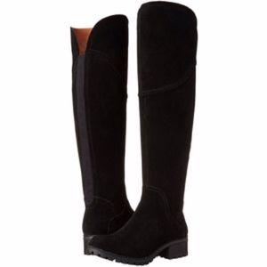 Lucky Brand Harleen OTK Suede Boot
